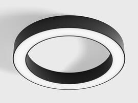 Фото потолочный светильник LTX RING M 3000К, черный (02.3900.25.930.BK), купить с доставкой на skylight.com.ua