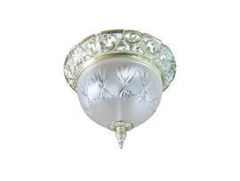 Фото потолочный светильник ArtGlass LEA I white gold, купить с доставкой на skylight.com.ua