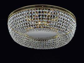 Фото потолочная хрустальная люстра ArtGlass Sofia dia 550, купить с доставкой на skylight.com.ua