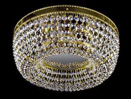 Фото потолочная хрустальная люстра ArtGlass Sofia dia 350, купить с доставкой на skylight.com.ua