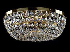 Фото потолочная хрустальная люстра ArtGlass Geena dia 450, купить с доставкой на skylight.com.ua