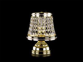 Фото настольная лампа хрустальная ArtGlass Klotylda dia 250, купить с доставкой на skylight.com.ua