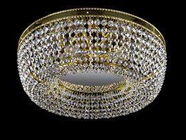 Фото потолочная хрустальная люстра ArtGlass Sofia dia 450, купить с доставкой на skylight.com.ua
