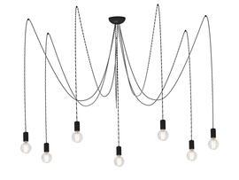 Фото подвесной светильник Nowodvorski Spider gray VII 6787, купить с доставкой на skylight.com.ua