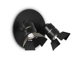 Фото настенный светильник Ideal Lux Ciak AP2 Nero, купить с доставкой на skylight.com.ua