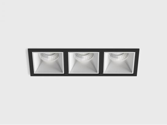Фото точечный врезной светильник LTX CELL 3 черный (01.20F3.30.830.BK), купить с доставкой на skylight.com.ua