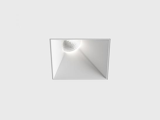 Фото точечный врезной светильник LTX INVISIBLE SquareAssym белый (01.2311.13.830.WH), купить с доставкой на skylight.com.ua