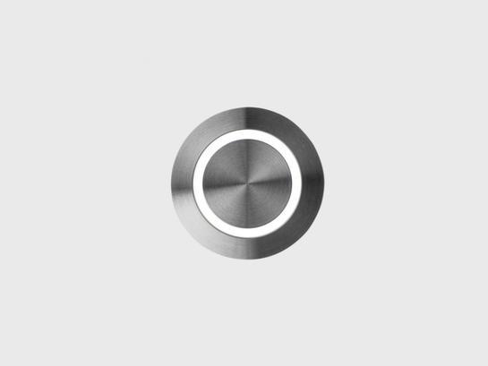 Фото точечный врезной светильник LTX IN WALL RING сталь (01.3853.R1.830.ST), купить с доставкой на skylight.com.ua