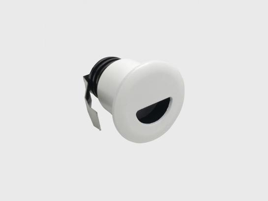 Фото точечный врезной светильник LTX IN WALL R белый (01.3853.R2.830.WH), купить с доставкой на skylight.com.ua