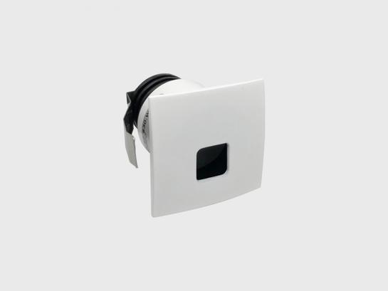 Фото точечный врезной светильник LTX IN WALL S белый (01.3853.S2.830.WH), купить с доставкой на skylight.com.ua