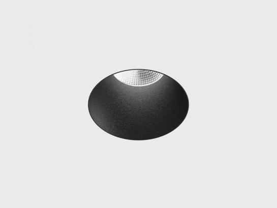 Фото точечный врезной светильник LTX NANO R TRIMLESS черный (01.3900.8.930.BK), купить с доставкой на skylight.com.ua