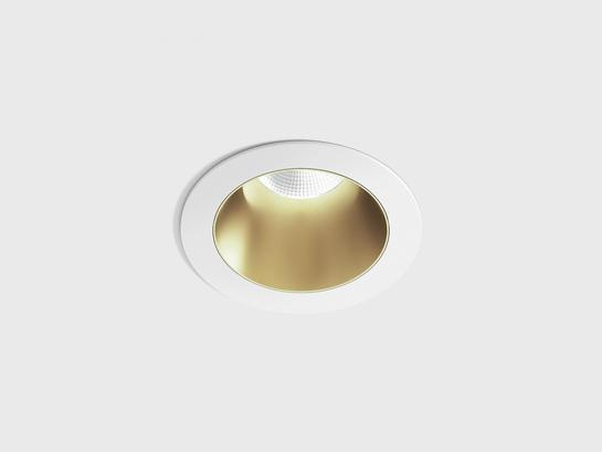 Фото точечный врезной светильник LTX NANO R белый (01.3910.8.930.WH + 01.A390.BR), купить с доставкой на skylight.com.ua