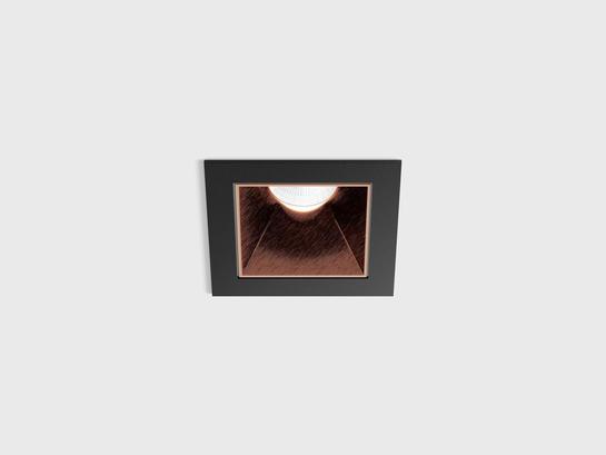 Фото точечный врезной светильник LTX NANO S черный (01.3911.8.930.BK + 01.A391.CP), купить с доставкой на skylight.com.ua