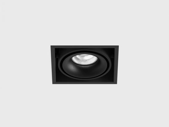 Фото точечный врезной светильник LTX KARDAN черный (01.6100.13.930.BK), купить с доставкой на skylight.com.ua