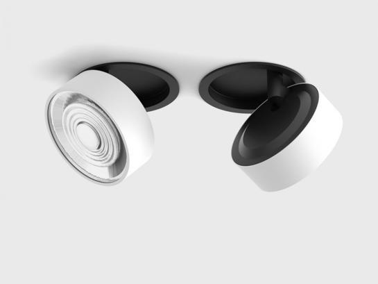 Фото точечный светильник LTX SOL IN черный (01.9533.14.930.BK + SOL RING WHITE), купить с доставкой на skylight.com.ua