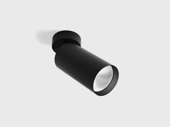 Фото точечный светильник LTX TUB L SA 150 черный (02.0715.13.940.BK), купить с доставкой на skylight.com.ua
