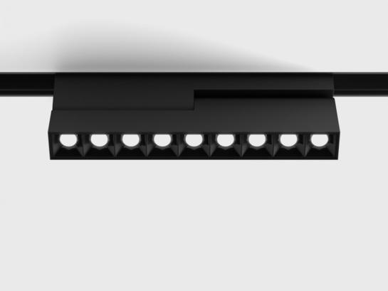 Фото трековый светильник LTX IN_LINE COMFORT B 205 черный (06.2052.12.930.BK), купить с доставкой на skylight.com.ua