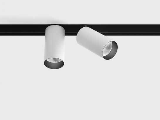 Фото трековый светильник LTX IN_LINE TUB S A 60 X2 белый (06.2301.14.930.WH), купить с доставкой на skylight.com.ua