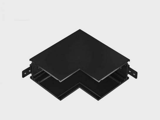 Фото соединитель накладной внутренний LTX IN_LINE CORNER S IN черный (06.S90IN.BK), купить с доставкой на skylight.com.ua