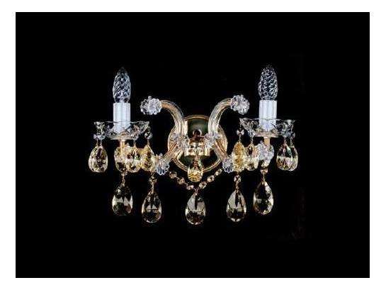 Фото хрустальное рожковое бра ArtGlass MARIA TEREZIA 30 8003, купить с доставкой на skylight.com.ua