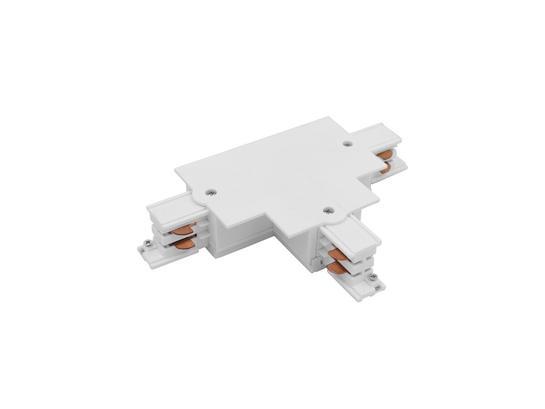 Фото  соединитель Nowodvorski CTLS Recessed Power T connector, right 2 (T-R2) White 8681  , купить с доставкой на skylight.com.ua
