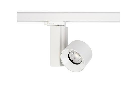 Фото трековый светильник Nowodvorski CTLS Nea LED White 20W, 3000K/4000K 8757/8756, купить с доставкой на skylight.com.ua