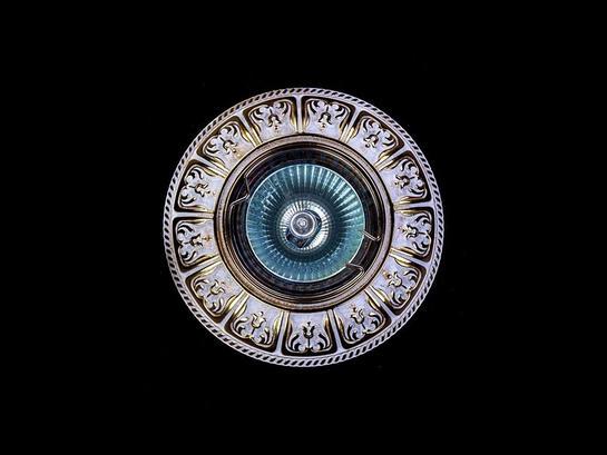 Фото точечный светильник ArtGlass SPOT 50 white gold, купить с доставкой на skylight.com.ua