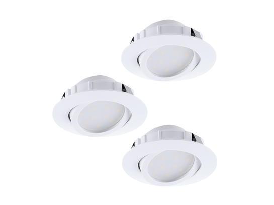 Фото точечные светильники Eglo Pineda 95851 набор из 3 шт, купить с доставкой на skylight.com.ua