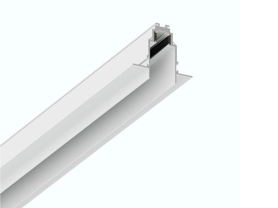Фото встраиваемый магнитный трек LH-35/R 1м белый LiGHT HUB LH-TRACK-35/R, купить с доставкой на skylight.com.ua